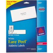 Avery® Easy Peel Laser Address Labels, 1 x 4, White, 500/Pack