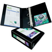 """Avery® Framed View Binder with One Touch EZD Rings, 3"""" Capacity, Black"""