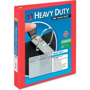 "Avery® Heavy-Duty View Binder with One Touch EZD Rings, 1"" Capacity, Red"