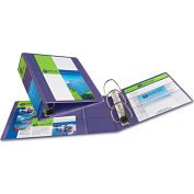 """Avery® Heavy-Duty View Binder with One Touch EZD Rings, 2"""" Capacity, Purple"""