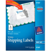 Avery® Shipping Labels with TrueBlock Technology, 3-1/2 x 5, White, 100/Pack