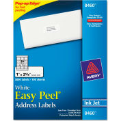 Avery® Easy Peel Inkjet Address Labels, 1 x 2-5/8, White, 3000/Box