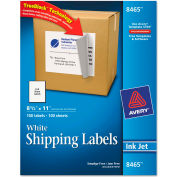 Avery® Shipping Labels with TrueBlock Technology, 8-1/2 x 11, 100/Box