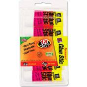 Avery® Permanent Glue Stics, White Application, .26 oz, Stick, 18/Pack