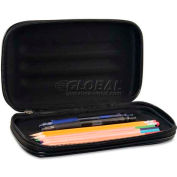 Innovative Storage Designs AVT-67000 Large Soft-Sided Pencil Case, Fabric with Zipper Closure, Black