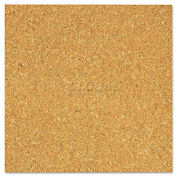 The Board Dudes 70UA4 Light Cork Tiles, 12 x 12, 4/Pack