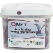 PAK-IT® Auto-Scrubber Neutral Floor Cleaner, 0.8 oz. Pack, 50 Packs - 568720003200