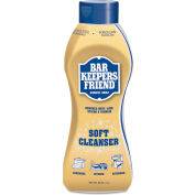 Bar Keepers Friend Soft Cleanser, 26 oz. Bottle, 6 Bottles - 11624