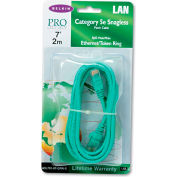 Belkin® CAT5e Snagless Patch Cable, RJ45 Connectors, 7 ft., Green