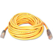 Belkin® CAT5e Crossover Patch Cable, RJ45 Connectors, 25 ft., Yellow