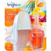 Bright Air Electric Scented Oil Air Freshener Warmer/Refill, Hawaiian Blossoms & Papaya - 900254EA