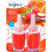 Bright Air Electric Scented Oil Air Freshener Refill, Macintosh Apples & Cinnamon, 2 Pk. - 900255EA