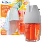 Bright Air Electric Scented Oil Air Freshener Refill, Hawaiian Blossoms & Papaya, 2 Pk. - 900256EA
