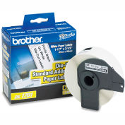 """Brother® Die-Cut Address Labels, 1.1"""" x 3.5"""", White, 400/Roll"""