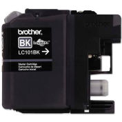 Brother® LC101BK, LC101BK Ink,300 Page-Yield, Black