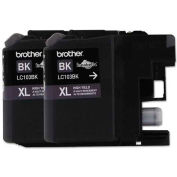 Brother® LC1032PKS, LC1032PKS, High-Yield Ink, 600 Page-Yield, Black