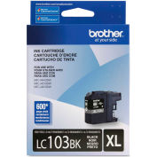 Brother® LC103BK, LC-103BK, Innobella High-Yield Ink, 600 Page-Yield, Black