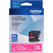 Brother® LC103M, LC-103M, Innobella High-Yield Ink, 600 Page-Yield, Magenta