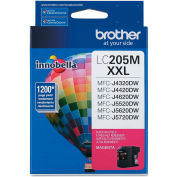 Brother® LC205M (LC-205M) Super High-Yield  Ink, 1200 Page-Yield, Magenta