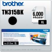 Brother® TN315BK (TN-315BK) High-Yield Toner, 6,000 Page-Yield, Black