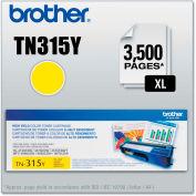 Brother® TN315Y (TN-315Y) High-Yield Toner, 3,500 Page-Yield, Yellow