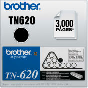 Brother® TN620 Toner, 3000 Page-Yield, Black