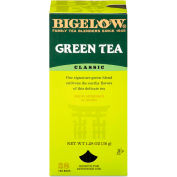 Bigelow Single Flavor Tea, Green, 8 Oz Single Cup Bags, 28/Box