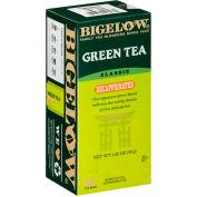 Bigelow® Decaffeinated Green Tea, Green Decaf, 0.34 lbs, 28/Box