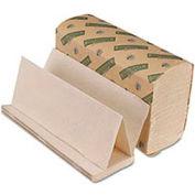 """Boardwalk Green Multi-Fold White Towels, 9-1/8"""" x 9-1/2"""", 200 Sheets/Pack, 20/Case - BWK10GREEN"""