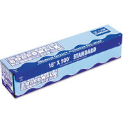 "Boardwalk® Standard Aluminum Foil Roll, 12"" x 500 Ft., 14 Micron Thickness, Silver"