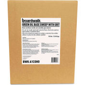 Boardwalk® Oil-Based Sweeping Compound, Grit, Green, 50lbs, Box - BWKA1COHO