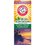 Arm & Hammer Fresh Scentsations Carpet Odor Eliminator, Island Mist, 30 oz Box, 6/Case - 3320011535