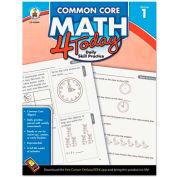Carson-Dellosa Publishing Common Core 4 Today Workbook, Math, Grade 1, 96 pages