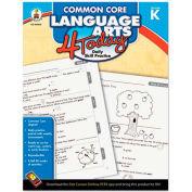 Carson-Dellosa Publishing Common Core 4 Today Workbook, Language Arts, Kindergarten, 96 pages