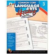 Carson-Dellosa Publishing Common Core 4 Today Workbook, Language Arts, Grade 3, 96 pages