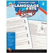 Carson-Dellosa Publishing Common Core 4 Today Workbook, Language Arts, Grade 4, 96 pages