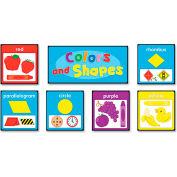 Carson-Dellosa Publishing Quick Stick Bulletin Board Set, Colors and Shapes