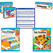 Carson-Dellosa Publishing Common Core Kit, Math/Language, Kindergarten