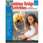 Carson-Dellosa Publishing Summer Bridge Activities, Grades K-1