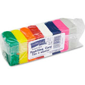 Chenille Kraft 4092 Modeling Clay Assortment, 27 1/2g each Assorted Bright, 220 g