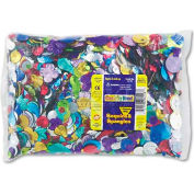 Creativity Street 6118 Sequins & Spangles Classroom Pack, Assorted Metallic Colors, 1 lb/Pack