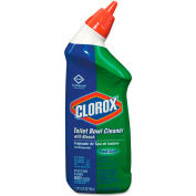 Clorox® Toilet Bowl Cleaner w/Bleach, Fresh 12 Bottles/Case - COX00031CT