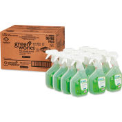 Clorox Green Works Natural All-Purpose Cleaner, 32 oz. Trigger Spray, 12 Bottles - 00456