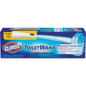 Clorox® Toilet Wand Kit w/Caddy & Refill Heads; 1 Kit/Box 6/Case - CLO03191CT