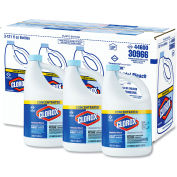 Clorox® Concentrated Germicidal Bleach, Regular, 121 oz. Bottle, 3 Bottles/Case - 30966