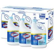 Clorox® Concentrated Germicidal Bleach, 121oz Bottle 3/Case - CLO30966CT