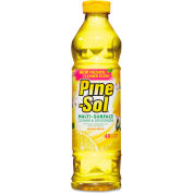 Pine-Sol® Lemon Fresh Multi-Surface Cleaner, 28oz Bottle 12/Case - CLO40187