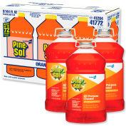 Pine-Sol® Multi-Surface Cleaner & Deodorizer, Orange Energy, 144 oz. Bottle, 3 Bottles - 41772