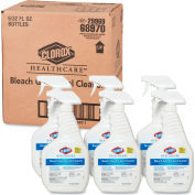 Clorox® Healthcare® Bleach Germicidal Cleaner, 32 oz. Trigger Spray, 6 Bottles/Cs - 68970