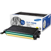 Samsung CLPY660B High-Yield Toner, 5000 Page-Yield, Yellow, OEM